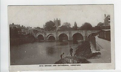 Wye Bridge and Cathedral Hereford