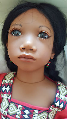 Panchita by Annette Himstedt 1994/5 Personally signed in Gold by Annette RARE !!