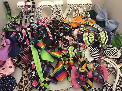 Wholesale Lot of Small Dog Ties and Bow Ties
