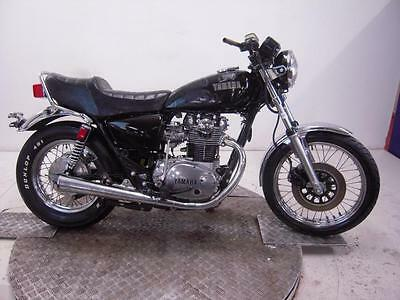 1981 Yamaha XS650 Unregistered US Import Barn Find Classic Restoration Proj