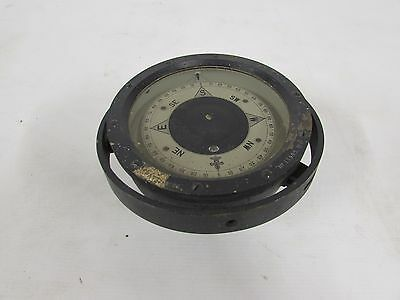 Vintage Brass Ships Compass Nautical Maritime Marine Old