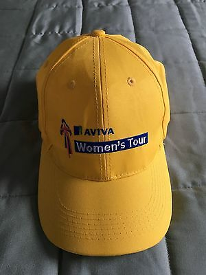 Yellow Aviva Women's Tour Baseball Cap- lovely headgear!