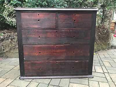 Antique Cedar Chest Of Drawers Restoration Project