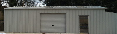 General Purpose Steel Framed Building | 6m x 12m | Flashings | Storage | Garage