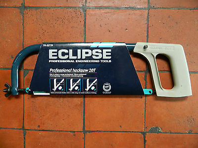 Spear & Jackson Eclipse Hacksaw fitted with 24tpi Bimetal blade 70-20TR