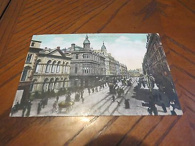 Vintage Postcard Royal Avenue Belfast N Ireland