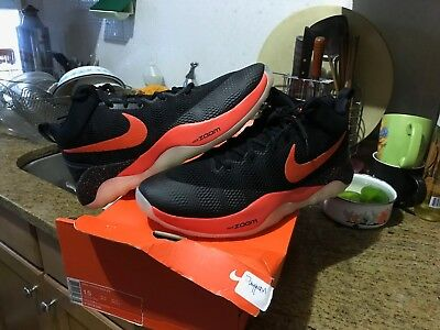 1c66f56b29d NIKE ZOOM HYPER Rev PE Devin Booker Black Team Orange 910572 080 Men ...