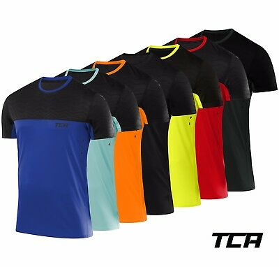 TCA Mens Hazard Quickdry Fitness and Running T-Shirt