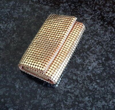 Gold Mesh Key Case - Made in England