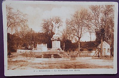 EARLY 190Os PERIOD POSTCARD FROM ALGERIA - DJIDJELLI - Le Monument aux Morts