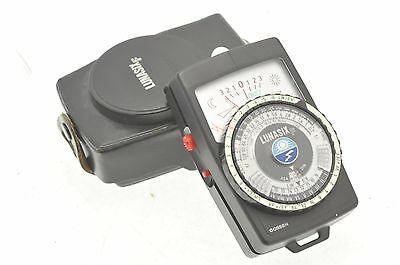 Gossen Lunasix F Light Meter - Fully working - In Case -  New Battery fitted