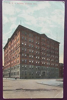 EARLY 1900s POSTCARD Y.M.C.A. BUILDING,CLEVELAND,OHIO USA