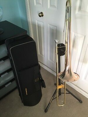 JP 131R Bb Dual Bore Tenor Trombone With Red Brass Bell RRP £263