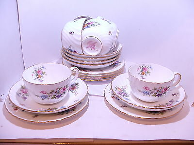 6 x Minton Marlow trios cup saucer and plate 1st quality