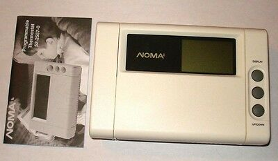 NOMA Heating/Cooling Programmable Thermostat 52-2557-0