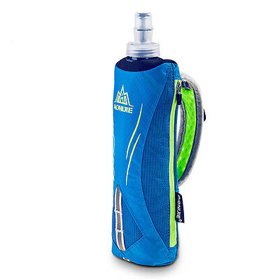 Hand-held Hydration Pack with 500mL Soft Flask Outdoor Running Sport Phone Bag
