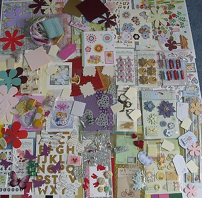 Huge Card Making Kit - Inc.cards/envs, Papers, Embellishments, Toppers (1).