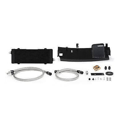 Mishimoto Thermostatic Oil Cooler Kit - fits Ford Focus RS MK3 - 2016 on - Black