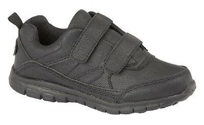 Unisex Boys Girls Air Zero Superlight Touch Fastening Trainers Black