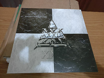 AXXIS Kingdom Of The Night II 2 LP Black & White Double Vinyl Hard Rock Metal