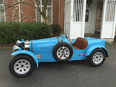 1971 Bugatti Other right hand drive roadster Wonderful Type 37 Replica, 6 of 6 made, only 650 miles from new, UK factory made