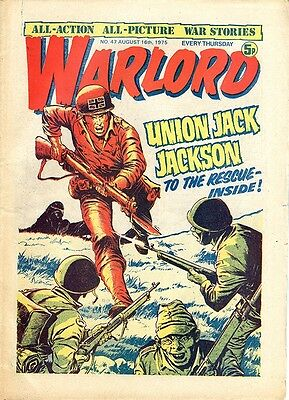 Warlord comic, No 47 from 16th August 1975