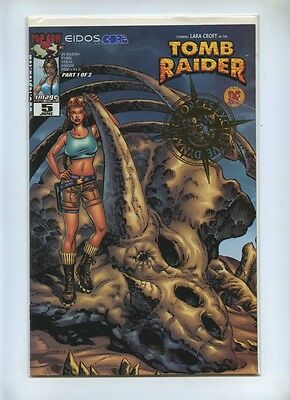 Tomb Raider 5 - Top Cow 2000 - VFN/NM - Dynamic Forces Alt Gold Foil Cov COA