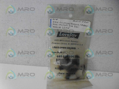 Lovejoy 685144-10621 Spider Jaw Coupling *new In Factory Bag*