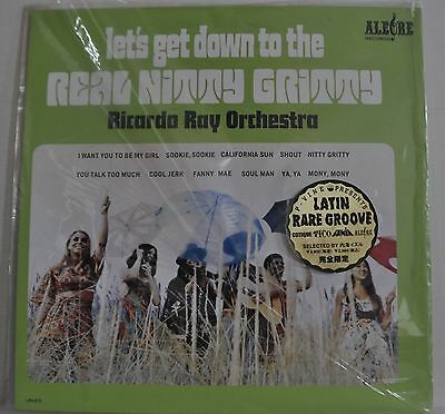 Ricardo Ray Orchestra Let's Get Down To The Real Nitty Gritty Japan LP PLP-6582