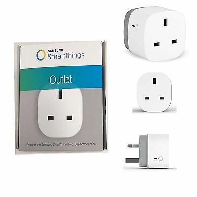 Remote Control Samsung Smart Things Power Outlet Timer Switch WiFi Socket Plug