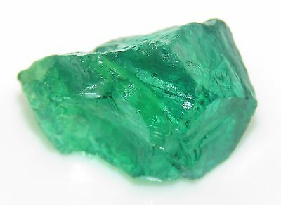Tremendous Natural Emerald Colombian Rough 21.35 Ct Certified Gemstone eBay