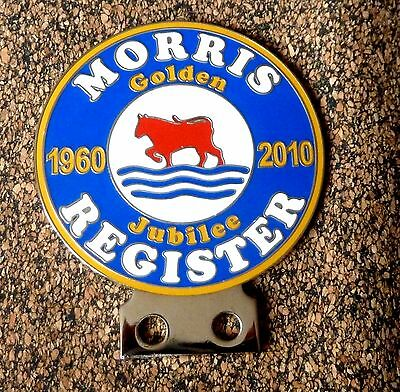 Morris Register Car Badge - Golden Jubilee