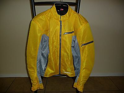 First gear mesh motorcycle jacket women's size large