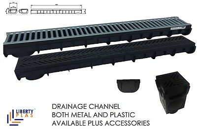 Drainage Channel Plastic Or Metal Grating Made In Uk Liberty Plas Drain Water