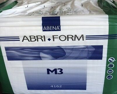Abena Abri Form Adult Nappy  M3 All In One  1Pack Of 22 Heavy Use