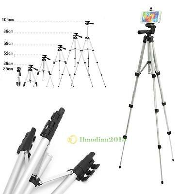 Professional Camera Tripod Stand Holder Mount for Smart Phone iPhone Samsung NEW