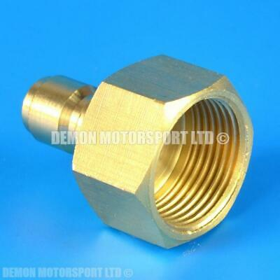 Pressure Washer Jet Wash M22 female to 1/4 Quick Release male Brass Adapter