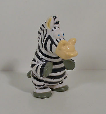 "2002 Marty the Zebra 3.25"" PVC Action Figure Madagascar Look-A-Like"