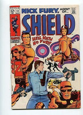Nick Fury #12 Solid Grade Classic Smith Cover Gem