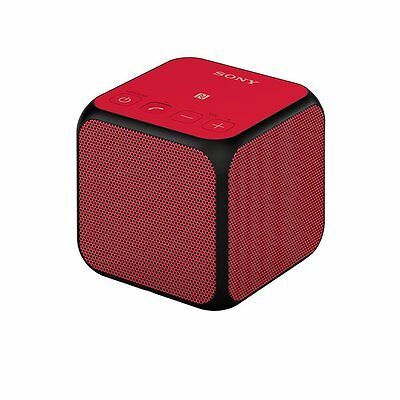 Sony SRS-X11 Compact Portable Wireless Speaker with Bluetooth/NFC - Red