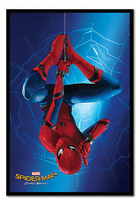 Framed Spider-Man Homecoming Just Hanging Film Poster New