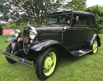 1931 Ford Model A Victoria 1931 Ford Model A Victoria - Survivor Car. Family owned since new!
