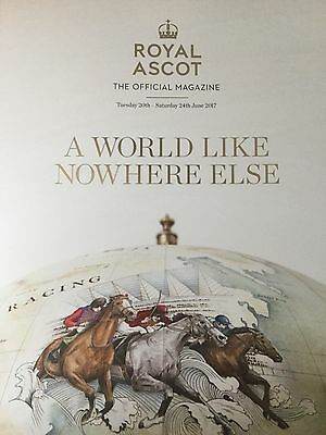 Royal Ascot 2017 The Official Magazine Souvenir Programme - New/unread