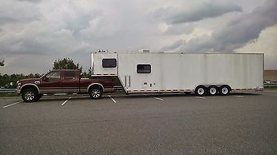40' Cargo Express Toy Hauler with Living Quarters