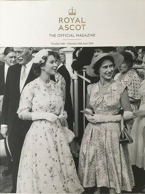 Ascot 2016 The Official Magazine Souvenir Programme Hm Queen Elizabeth Ii Cover