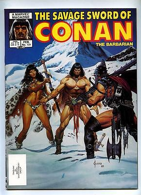 Savage Sword of Conan The Barbarian #121 - Marvel 1986