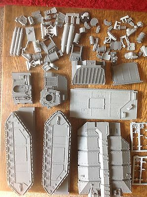 Warhammer 40k. Imperial Guard Crassus Assault Tank Parts Plus Extras. Forgeworld