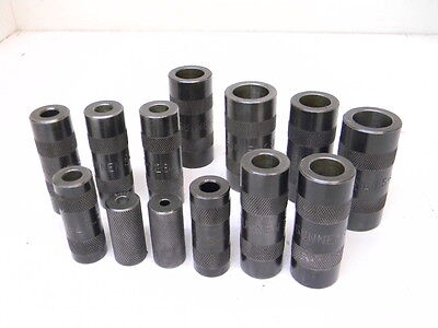 """Lot """"a"""" Used 13Pcs. Sunnen Truing Sleeves"""