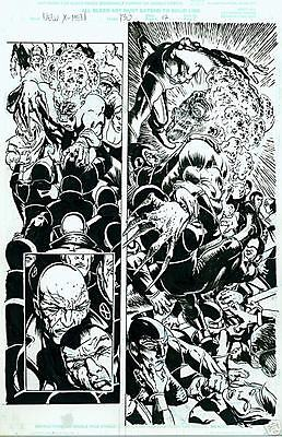 New X-Men. Igor Kordey. Comic Original Art.