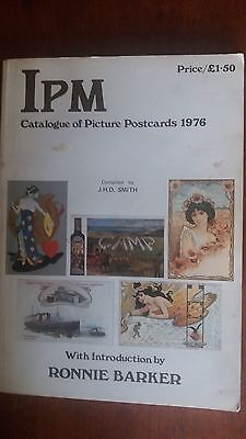 Ipm Catalogue Of Picture Postcards And Year Book 1976